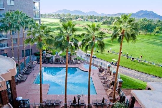 Embassy Suites by Hilton Phoenix-Scottsdale: Outdoor Pool/Whirlpool