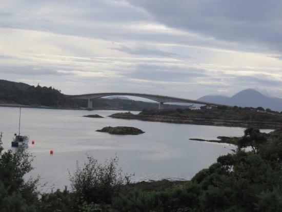 Balmacara, UK: De brug naar Isle of Skye.