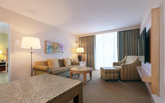 Embassy Suites by Hilton Tampa - Airport/Westshore: Suite Living Room