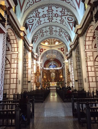 The Church of San Francisco with an impressive collection of 16th century arc...