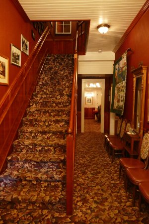 Prospect, ออริกอน: Kuscheliges Interieur gleich beim Hoteleingang