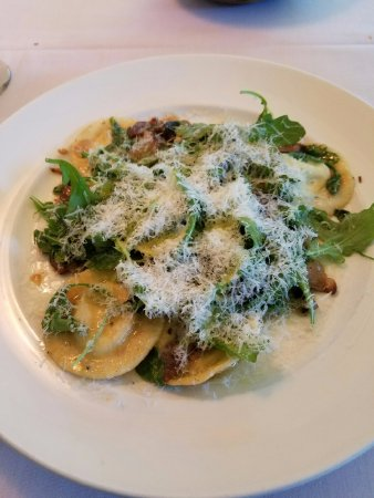 Saugerties, NY: House Ravioli (with Goat Cheese)