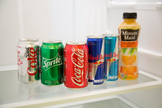 Embassy Suites by Hilton Detroit - Troy/Auburn Hills: Fridge Refreshments
