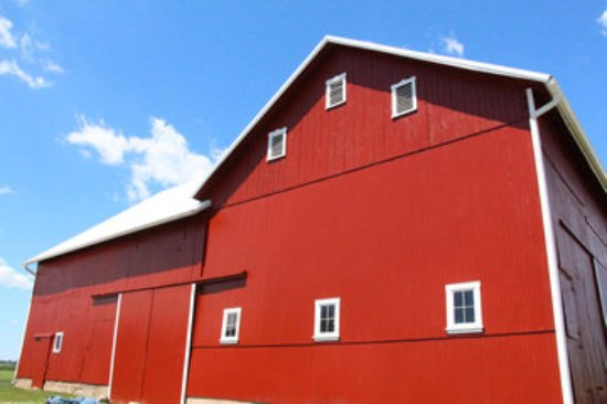 Bowling Green, OH: Big Red Barn - location landmark