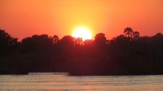 Victoria Falls, Zambia: il tramonto