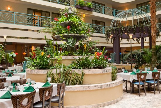 Embassy Suites by Hilton Minneapolis - Airport: Atrium Tables