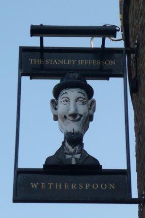 The Stanley Jefferson: Pub sign