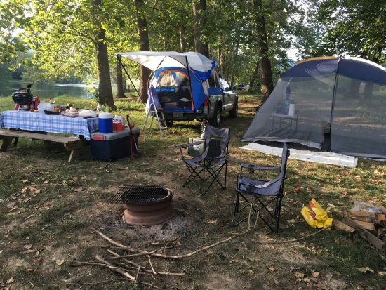 Rileyville, VA: Our camp