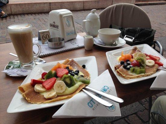 Cristallo Caffe Gelateria: Frühstück
