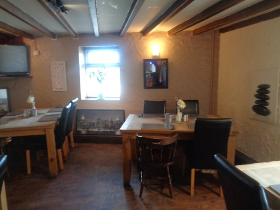 Oswestry, UK: Lower Dining Area