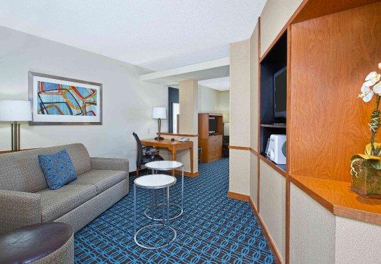 East Ridge, TN: Executive King Suite Living Area