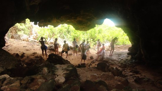 The Caves at Two Foot Bay : la grotta