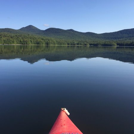 Chittenden, VT : Kayaks available from morning to night for peaceful paddles!