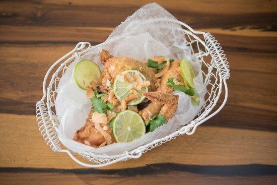 Shelborne South Beach Green Curry Fried En