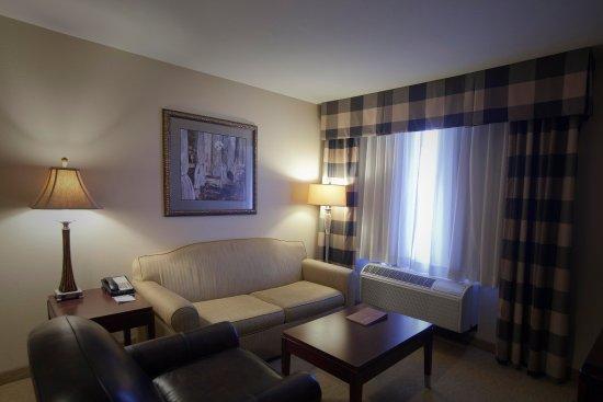 Homewood Suites by Hilton Albuquerque Airport: Suite Living Room