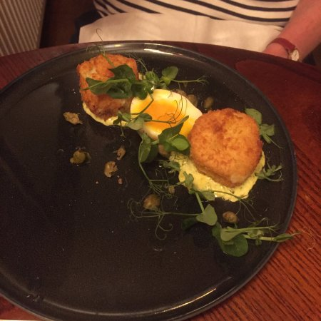 Bampton, UK: Fishcakes
