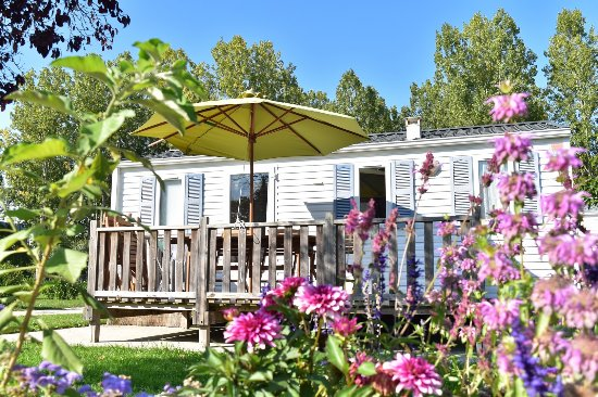 Le Lude, Francja: Mobil-home