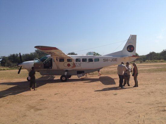Morogoro, Tanzania: Plane at Mtermere