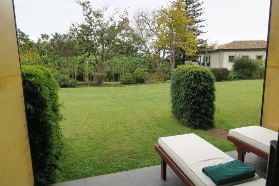 Quinta da Casa Branca: Terrasse privee qui donne sur le jardin