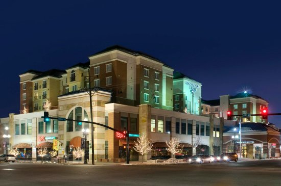 Homewood Suites by Hilton Salt Lake City - Downtown: Exterior at Night