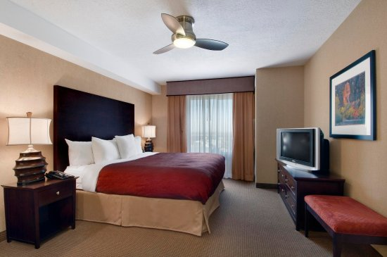 Homewood Suites by Hilton Salt Lake City - Downtown: King Bedroom