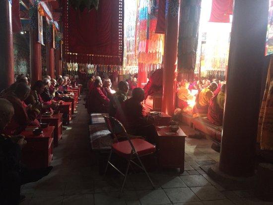 Dazhao Temple: Da Zhao Temple, a big peaceful space