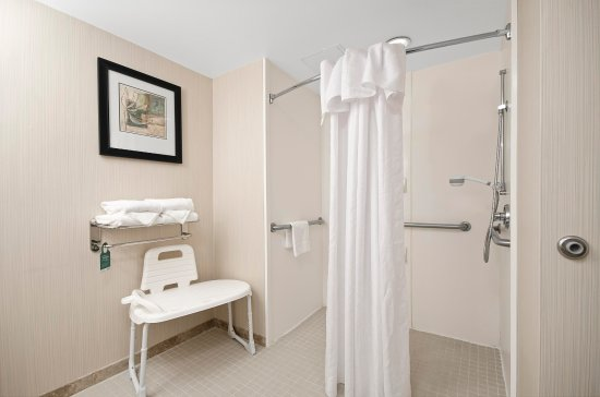 Homewood Suites Atlanta I-85-Lawrenceville-Duluth: Accessible Shower