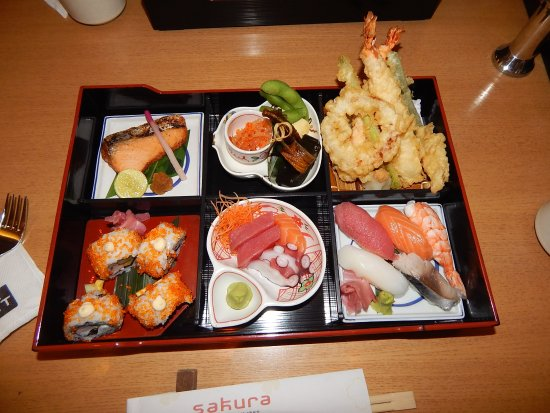 Sakura Sushi Bento Box 4000 INR 65 USD Or 55 Euro