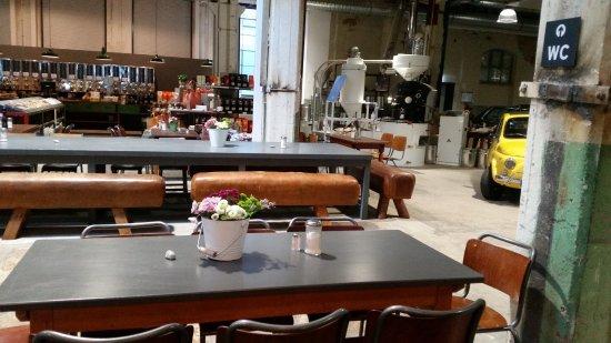 auch manufaktur b26 genannt bild von restaurant ritz schw bisch gm nd tripadvisor. Black Bedroom Furniture Sets. Home Design Ideas