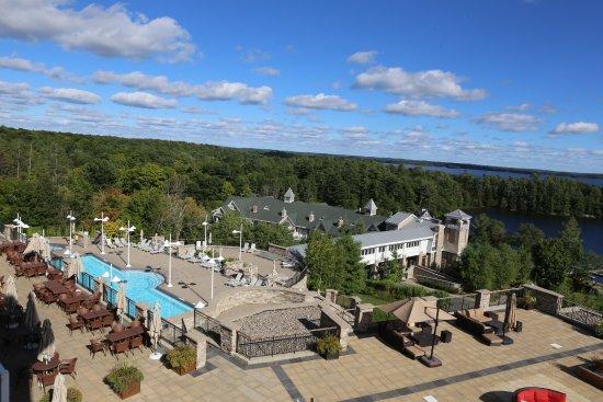JW Marriott The Rosseau Muskoka Resort & Spa: Udsigt fra terrasse