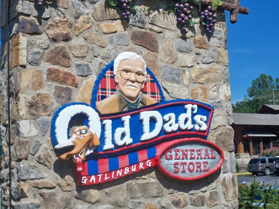 Old Dad's: Exterior Signage