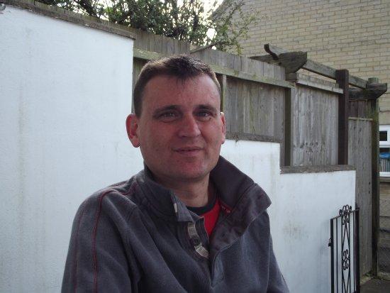 Martock, UK: myself in oxford