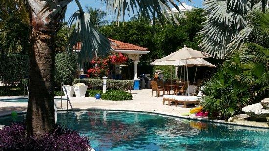 Villa del Mar: Pool and bar area