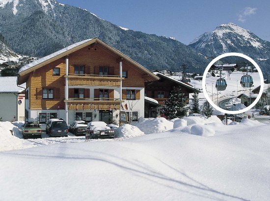 Sankt Gallenkirch, Austria: Aussenaufnahme Winter