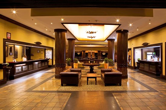 The Kingdom at Victoria Falls: The Reception Area