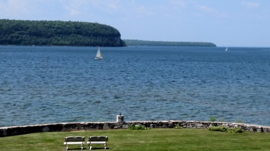 Edgewater Resort: Our balcony view. I could look at this all day.
