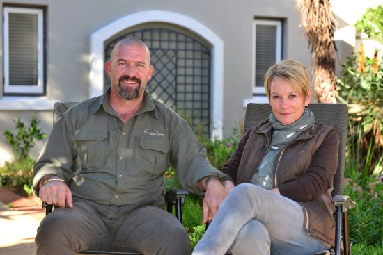 Paterson, Sudafrica: Vicky and Wayne