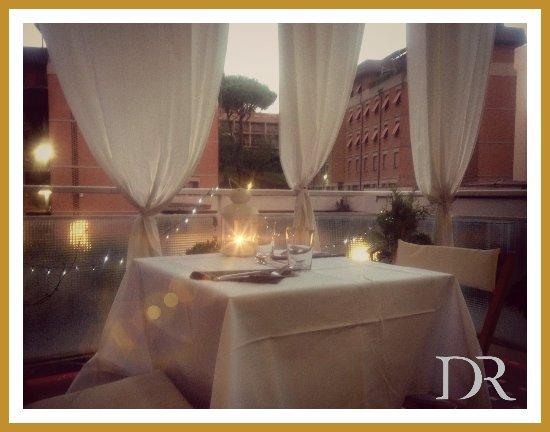 Cena In Terrazza Foto Di B B Domus Raffaello Roma