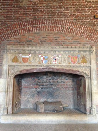 A second medieval fireplace. - Picture of Tattershall Castle ...