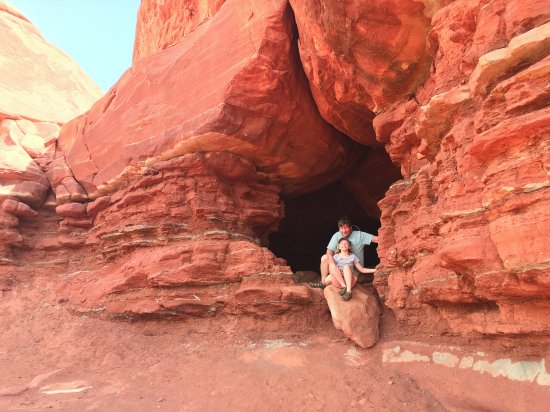 wind cave - Picture of Base Camp Adventure Lodge, Moab