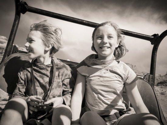 Base Camp: happy kids