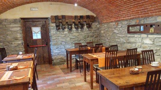 Pollein, Itália: La sala delle colazioni