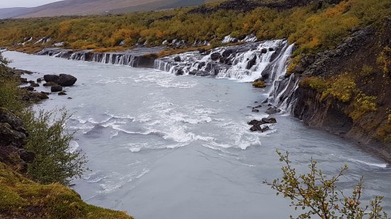 Husafell, Islandia: Looking back from one of the bridges