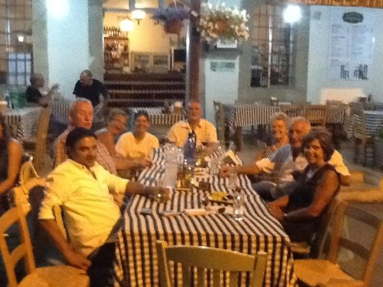 Episkopi, Cyprus: Family dinner
