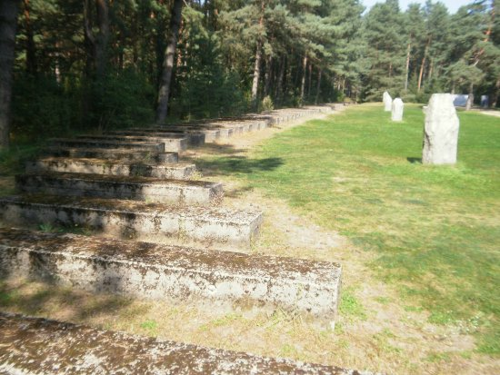 Polonia Central, Polonia: Treblinka Railroad Line is Marked by These