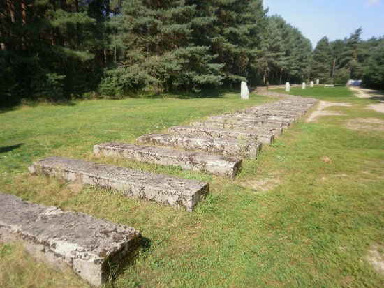 Central Poland, Poland: Treblinka Railroad Line is Marked by These