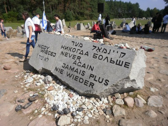 "Central Poland, Poland: Treblinka - ""Never Again"""