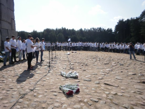 Central Poland, Poland: Israeli Youth Experience at Treblinka