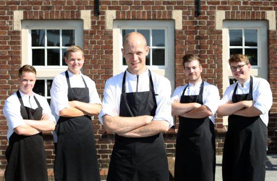 Uden, เนเธอร์แลนด์: Team keuken onder leiding van Chef Thijs Berkers