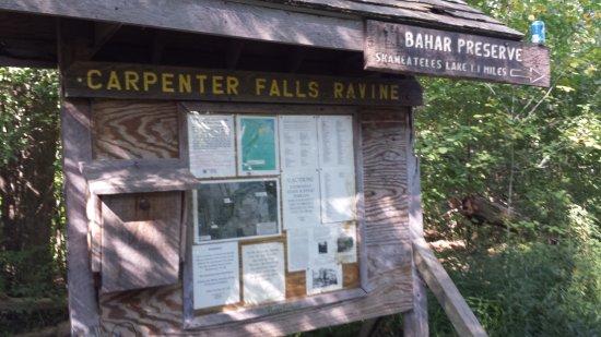 Skaneateles, estado de Nueva York: Bahar Preserve Trail Head